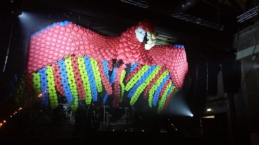 Parrot, Decor, Festival, Stage, Design